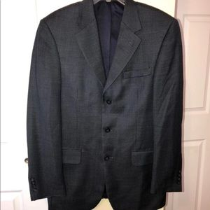 Andrew Fezza Blazer 39L Wool Unvented
